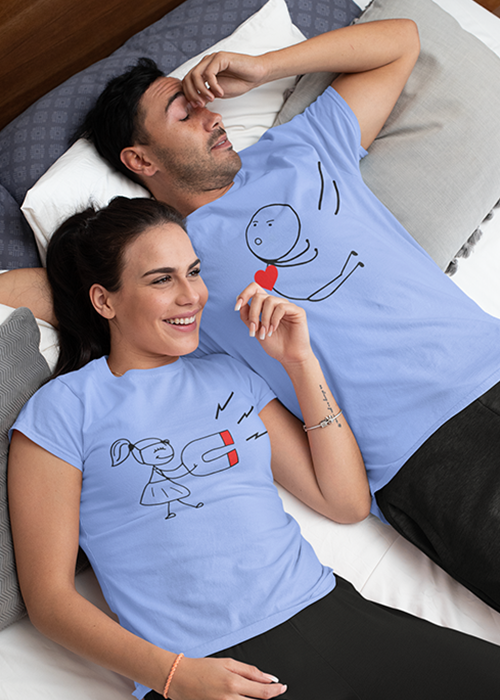 Best Personalized Couple T-Shirt online at cheap prices