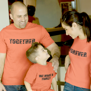 Together Forever Family Matching Tees